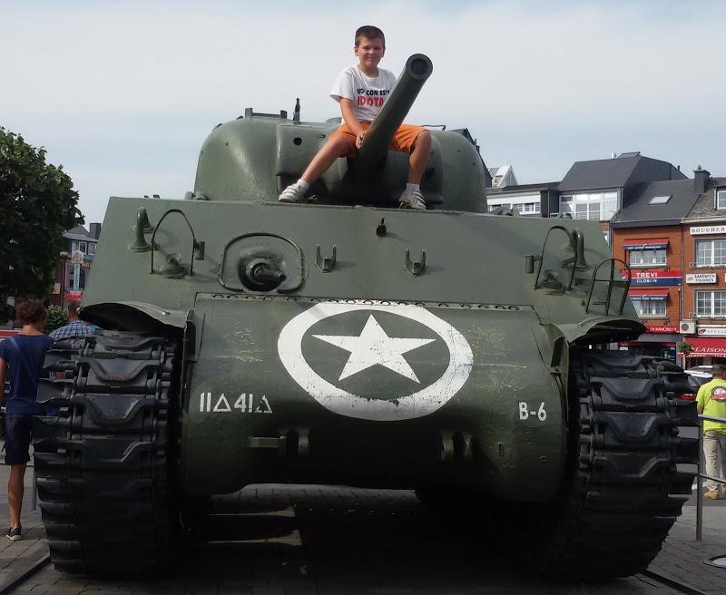 Tanque sherman Bastogne