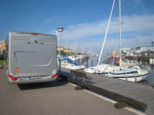 La Junta creará 116 plazas para autocaravanas en cuatro puertos deportivos de Cádiz