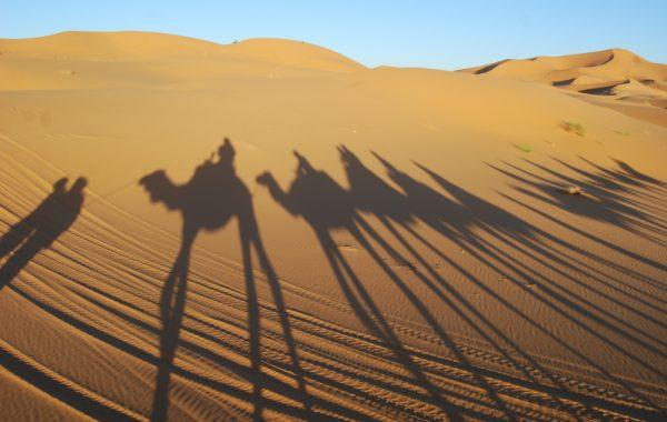 Con autocaravana por el desierto de Marruecos