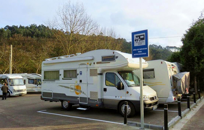 Áreas de autocaravanas: donde pernoctar en Asturias